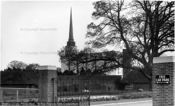 Photo of Lingfield, The Mormon Temple c.1960