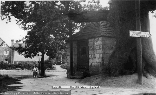 Photo of Lingfield, The Old Prison 1952