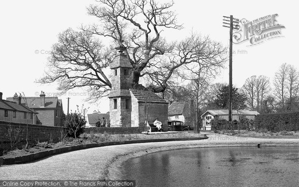 Photo of Lingfield, the Old Prison and the Pond c1950