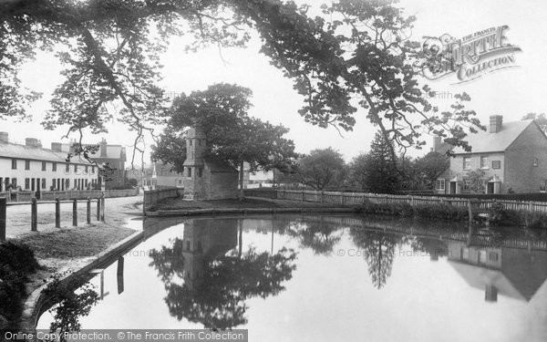 The pond, Lingfield, 1895 Reproduced courtesy of The Francis Frith Collection