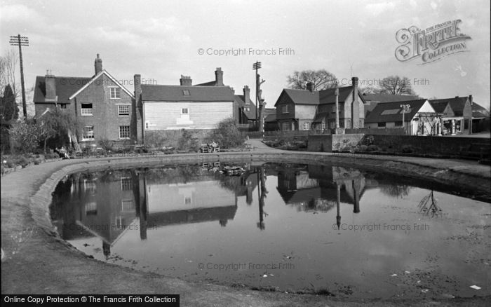 Photo of Lingfield, The Pond 1955