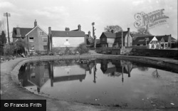 Lingfield, The Pond 1955