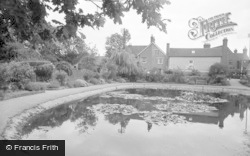 Lingfield, The Pond 1958