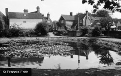 Lingfield, The Pond 1964