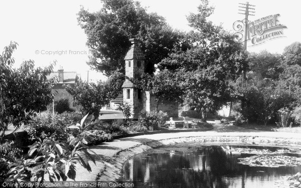 Photo of Lingfield, The Pond And Old Cage 1958