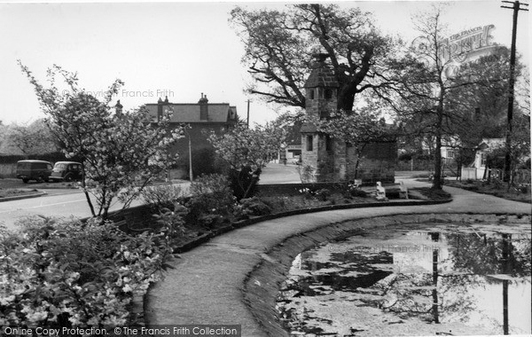 Photo of Lingfield, The Pond And Old Cage 1959