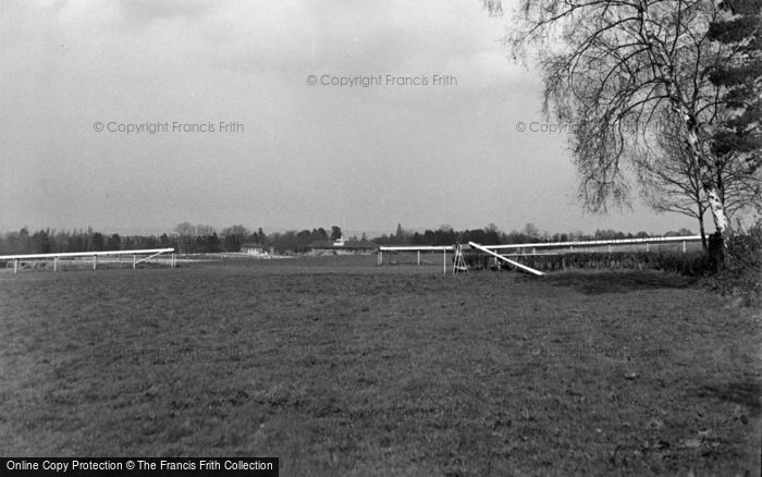 Photo of Lingfield, The Racecourse 1951
