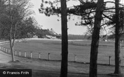 Lingfield, The Racecourse 1955
