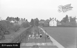 Lingfield, The Recreation Ground c.1952