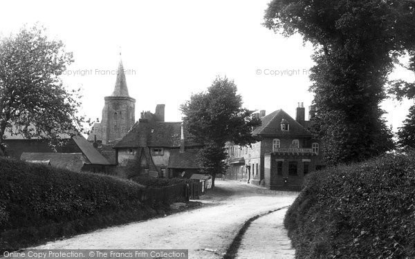 Photo of Lingfield, The Village 1895