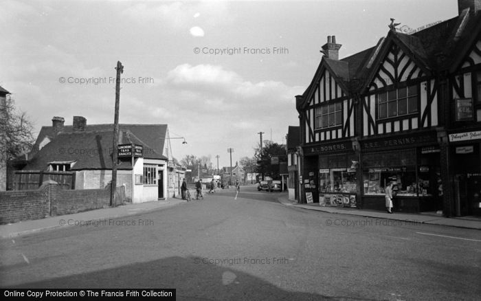 Photo of Lingfield, The Village 1955