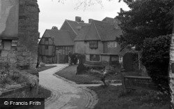 Lingfield, View From The Church 1951