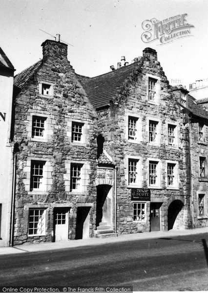 Photo of Linlithgow, High Street c.1950