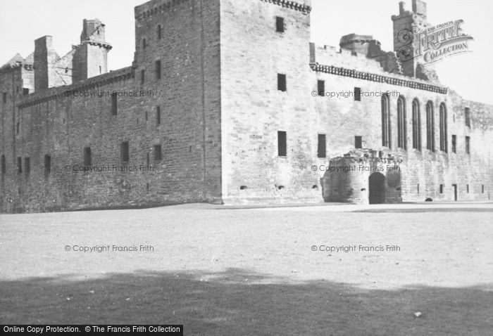 Photo of Linlithgow, Palace 1949