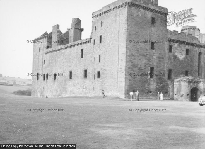 Photo of Linlithgow, Palace 1955