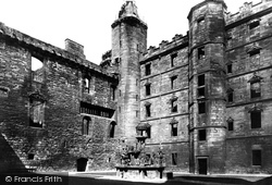 Palace, Queen Margaret's Bower 1897, Linlithgow