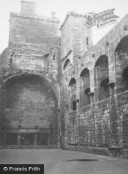 Palace, The Great Hall 1950, Linlithgow