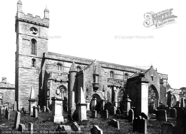 Photo of Linlithgow, St Michael's Church 1897