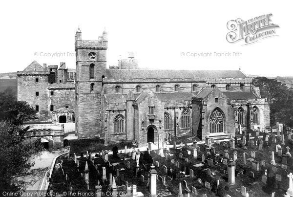 Photo of Linlithgow, St Michael's Church And The Palace 1897