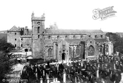 St Michael's Church And The Palace 1897, Linlithgow