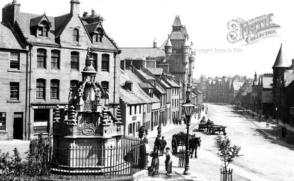 Photo of Linlithgow, the Cross Well 1897