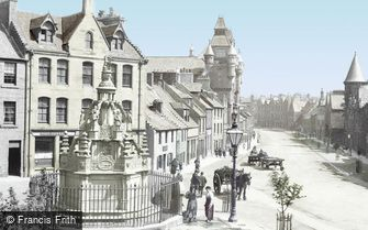 Linlithgow, the Cross Well 1897