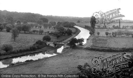 Photo of Linslade, The Grand Union Canal c.1960