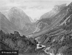 Thal, Head Of The Valley c.1860, Linthal