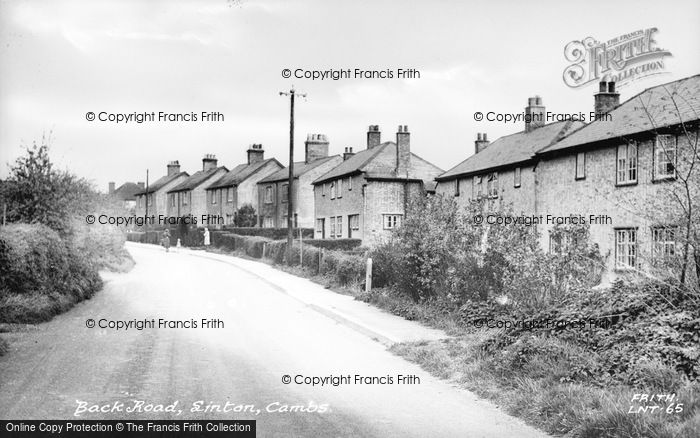 Photo of Linton, Back Road c.1955