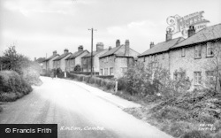 Linton, Back Road c.1955