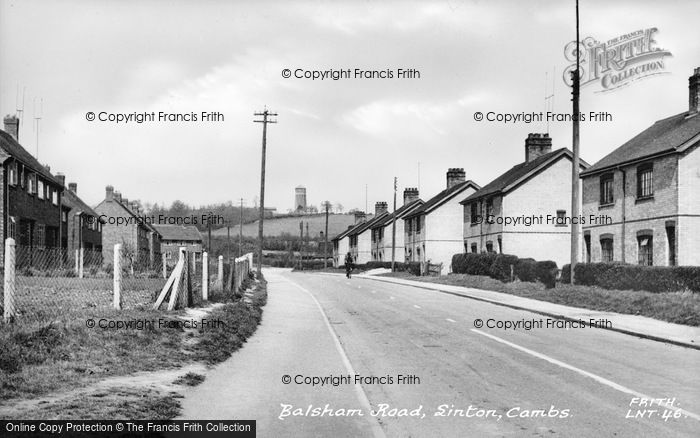 Photo of Linton, Balsham Road c.1955