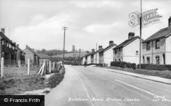 Linton, Balsham Road c.1955