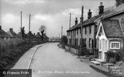 Bartlow Road c.1955, Linton