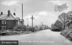 Cambridge Road c.1955, Linton