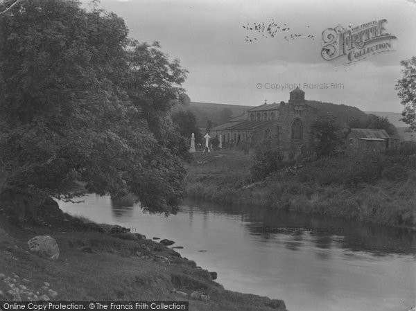Photo of Linton, Church And River 1926
