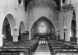 Church Interior 1900, Linton