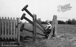 Linton, Clapper Stile c.1955