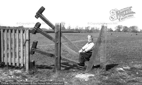 Photo of Linton, Clappers Stile c.1955