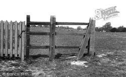 Linton, Clappers Stile c.1955