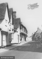 Linton, Cycling In The High Street c.1960