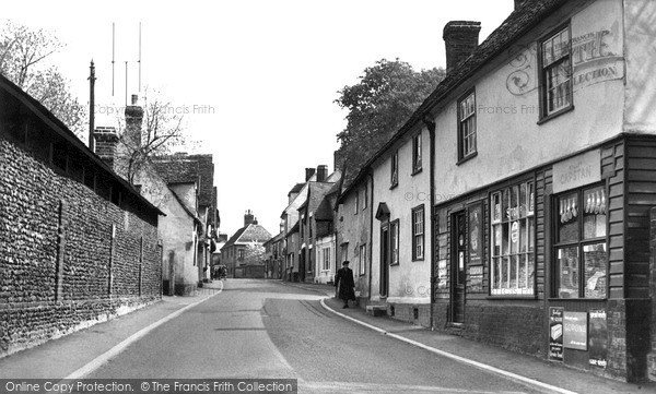 Photo of Linton, High Street c.1955