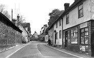 Linton, High Street c1955