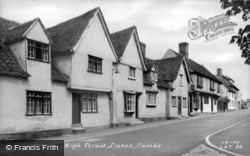 High Street c.1960, Linton