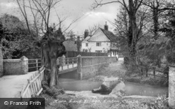 Horn Lane Bridge c.1955, Linton