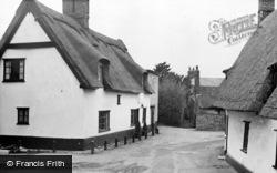 Linton, Market Lane c.1955