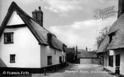 Market Lane c.1960, Linton