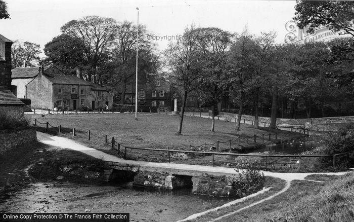 Photo of Linton, Old Roman Bridge c.1955