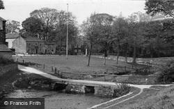 Old Roman Bridge c.1955, Linton
