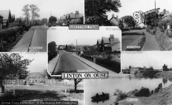 Photo of Linton On Ouse, Composite c.1960