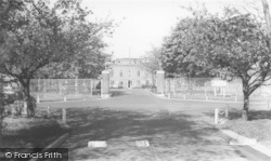 Linton-on-Ouse, RAF Main Gates c.1955